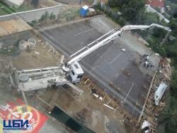 Заливка бетона для ТЦ Большая Медведица, г.Коломна, р-он Колычево