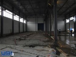 Заливка бетона для производственной площади НПФ Технокомплекс в районе Щурово