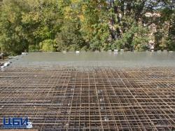 """Заливка бетона для """"Серебрянных парусов"""" рядом с ТК Афганец"""