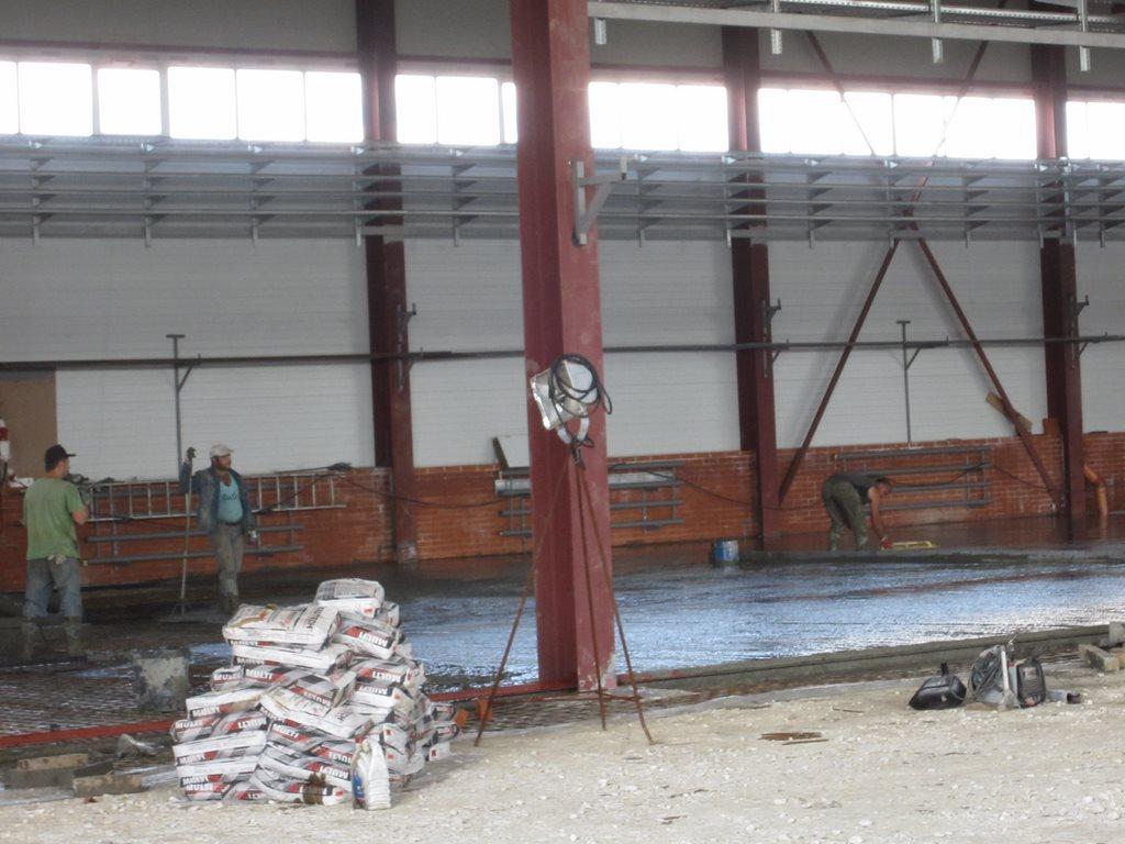 Заливка бетона для АИК (Ревокот Мастика)