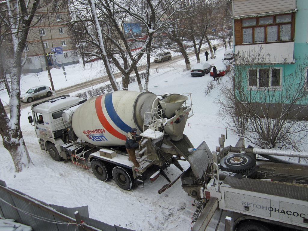 Заливка бетона для ИП Лобановой Магазин на ул. Гагарина