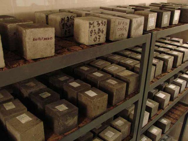 Производственная лаборатория бетона